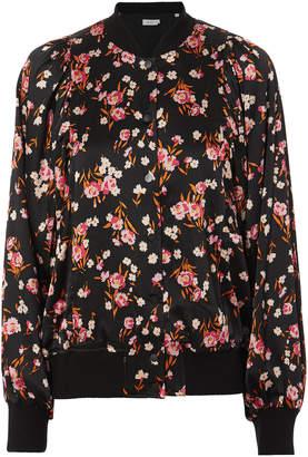 A.L.C. Kelley Floral-Print Bomber Jacket