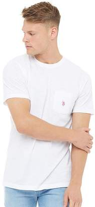 U.S. Polo Assn. Mens York T-Shirt Bright White
