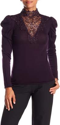 Bailey 44 Lace Inset Top
