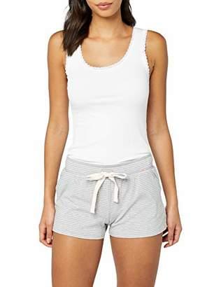 Skiny Women's 082119 Pyjama Bottoms, (Stone Grey Stripe 5729), (Size: 38)