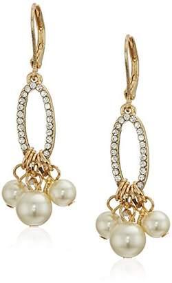 Anne Klein Women's Gold Tone Shaky Drop Earrings