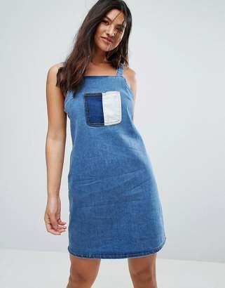 Glamorous Patchwork Dress