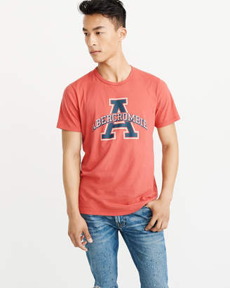 Abercrombie & Fitch Varsity Graphic Logo Tee