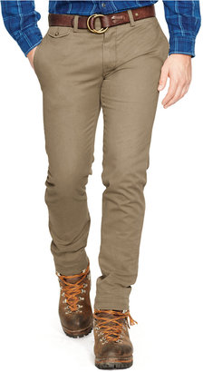 Polo Ralph Lauren Slim-Fit Bedford Chino Pants $85 thestylecure.com