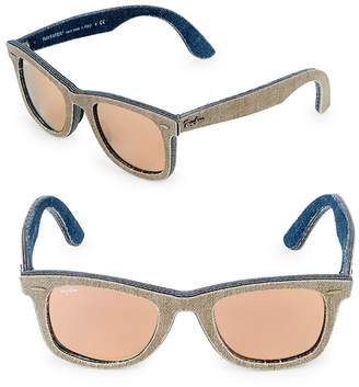 Ray-Ban Men's 47MM Square Wayfarer Sunglasses