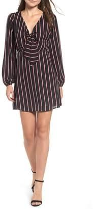 Leith Tie Front Minidress