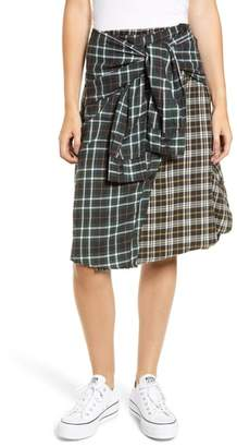 French Connection Este Plaid Skirt