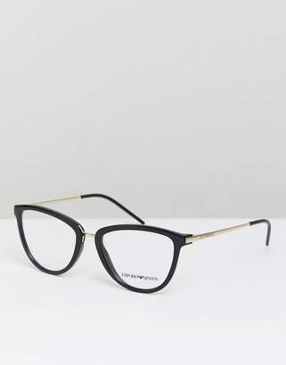 Emporio Armani optical frames with demo lenses