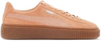 Puma WN Suede Platform Animal Trainers
