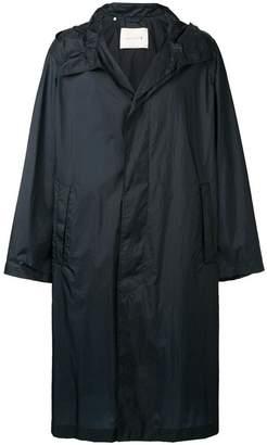 MACKINTOSH Navy Nylon Oversized Hooded Coat GM-139