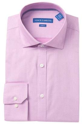 Vince Camuto Dobby Slim Fit Dress Shirt