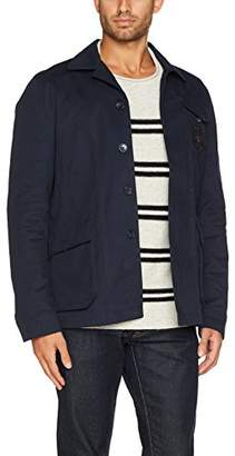 Ben Sherman Men's Military Twill Jacket,Medium