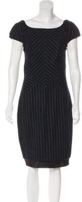 Diane von Furstenberg Striped Midi Dress