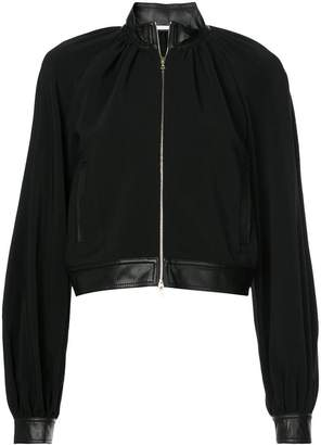 Rosetta Getty zipped bomber jacket