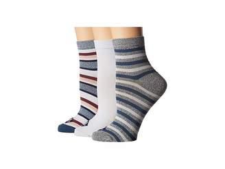 Sperry Ankle Socks 3-Pack