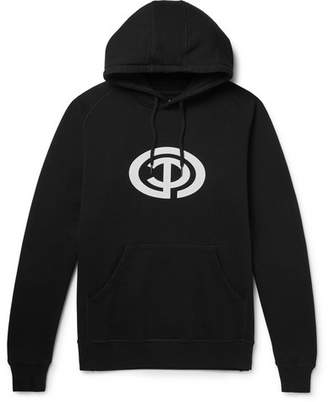 Pop Trading Company Way Loopback Cotton-Jersey Hoodie
