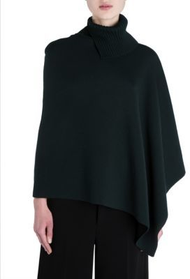 Marni Asymmetrical Turtleneck Poncho