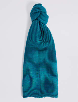 M&S Collection Textured Scarf