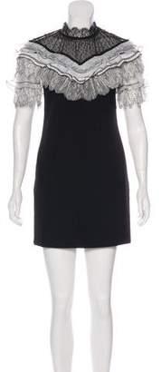 Self-Portrait Short Sleeve Mini Dress w/ Tags
