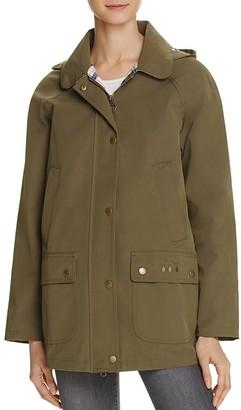 Barbour Gustnado Raincoat $299 thestylecure.com