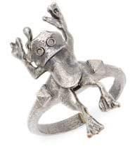 Valentino Frog Statement Ring