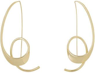 Zohra Earrings Champagne Gold:Gold EA7081A