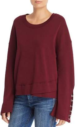 Joe's Jeans Khaleesi Hook-Sleeve Sweatshirt