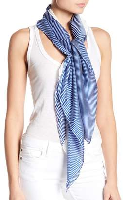 Halogen Silk Printed Square Scarf