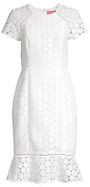Lilly Pulitzer Women's Aliza Midi Flounce Sheath Dress