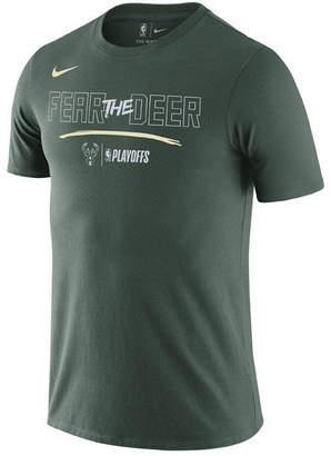 Nike Men's Milwaukee Bucks Playoff Mantra Legend T-Shirt