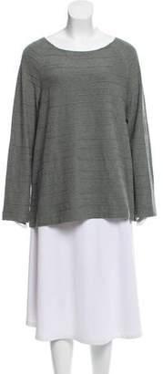 Oska Textured Long Sleeve Top