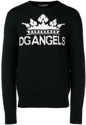 Dolce & Gabbana Angels sweater