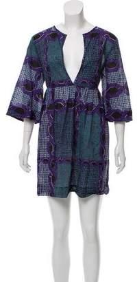 Burberry Printed Mini Dress