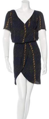 Jenni Kayne Silk Printed Dress