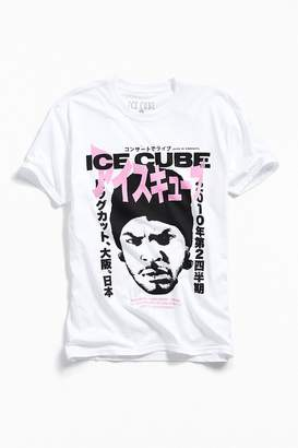 Urban Outfitters Ice Cube Kanji Text Tee