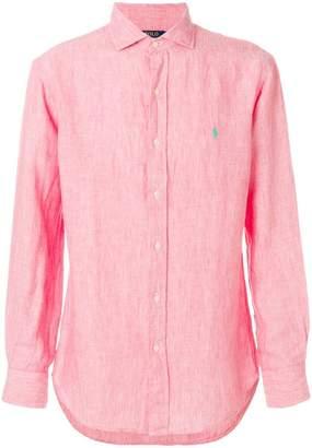 Polo Ralph Lauren long sleeved woven shirt