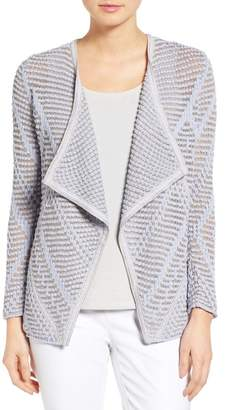 NIC+ZOE Diamond Knit Cardigan $138 thestylecure.com