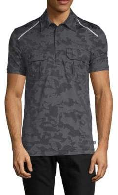 Camouflage Short-Sleeve Polo