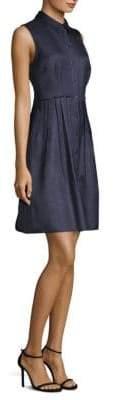 Elie Tahari Samiyah Button-Front Dress
