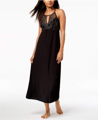 INC International Concepts I.N.C. Lace Keyhole Nightgown, Created for Macy's