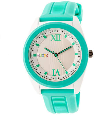 Crayo Unisex Blue Strap Watch-Cracr3606