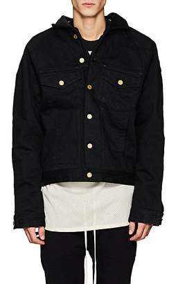 Fear Of God Men's Insulated Cotton Trucker Jacket - Black