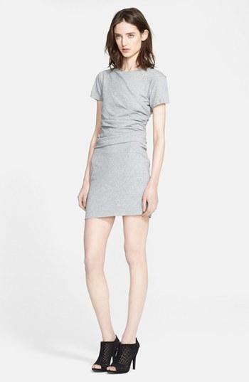 Theory 'Tucky' Pima Cotton T-Shirt Dress