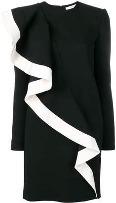 Givenchy ruffle detail dress