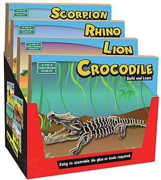 Lego Green Board Games Build Learn Lion Scorpio Rhino Crocodile