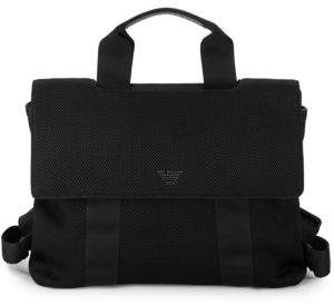 Emporio Armani Strappy Leather Backpack