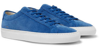 Common Projects Original Achilles Suede Sneakers - Men - Blue