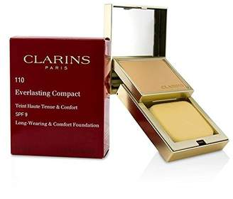 Clarins Everlasting Compact Foundation SPF 9 - # 110 Honey - 10g/0.3oz