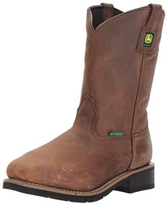 John Deere Women's JD3771 Mid Calf Boot 11 Medium US