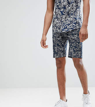 Bellfield Chino Short With Wave Print